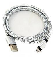 Usb шнур micro usb серебро ( usb кабель )