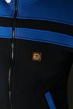 Толстовка зимняя мужская Adidas. Синяя , фото 3
