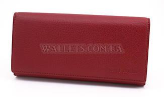 Женский кожаный кошелек Marco Coverna (MC1411) на магнитах, бордовый