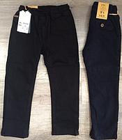Утепленные котоновые брюки для мальчиков