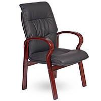 Кресло Лондон CF, кожзам черный (625-D BLACK PU+PVC), фото 1