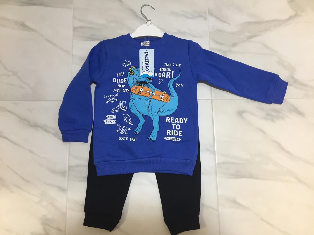 Детский спортивный костюм для малыша PAFFUTO, теплый, фото 1