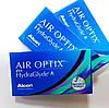 Набір з двох контактних лінз Alcon, Air Optix plus HydraGlyde - Фото