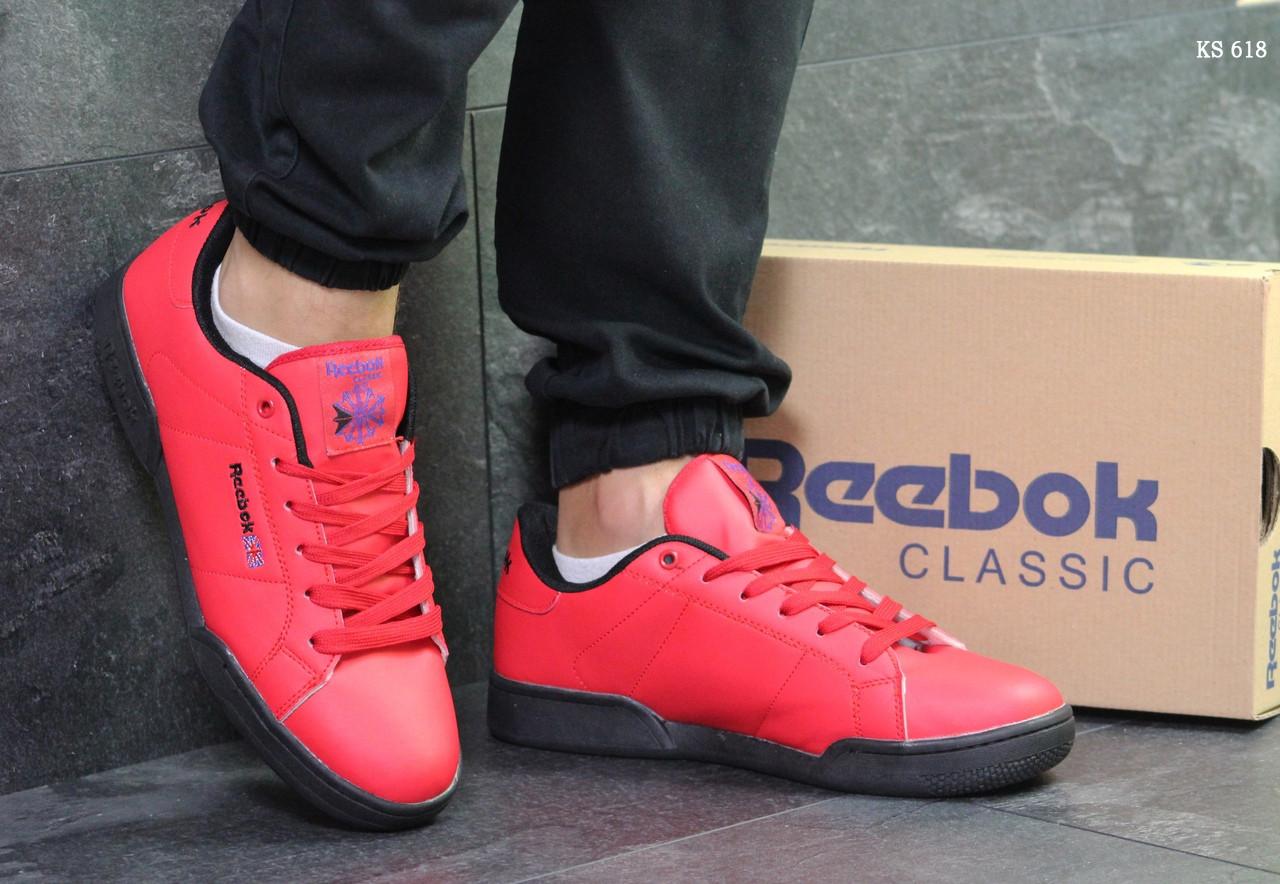 Кроссовки Reebok (красные)