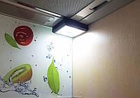 LED-лампа беспроводная с выключателем на магните квадратная, фото 1