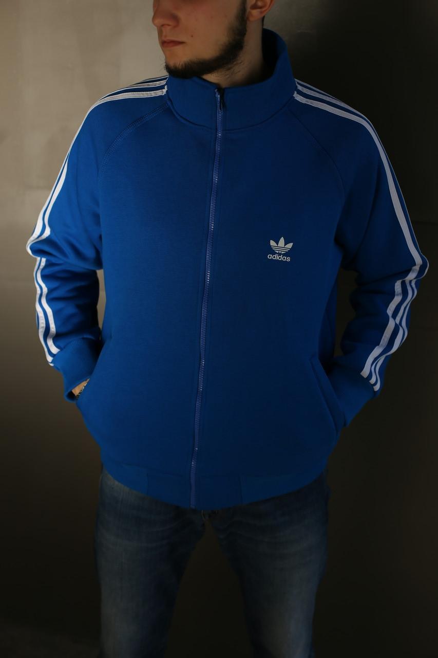 Толстовка мужская Adidas. Синяя