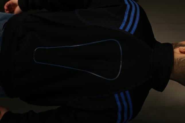 Кофта мужская Adidas F 50. Синяя , фото 2
