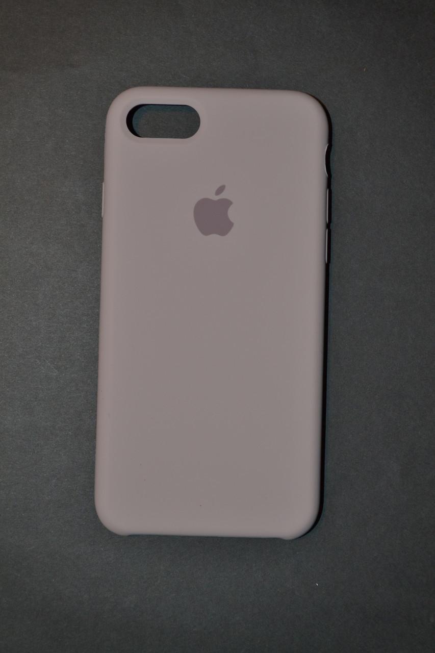 buy popular ca2c7 7f3b6 TPU + PC + MicroFiber Apple Silicone Case for iPhone 7 / 8 Lavender Gray  (лавандово-серый)