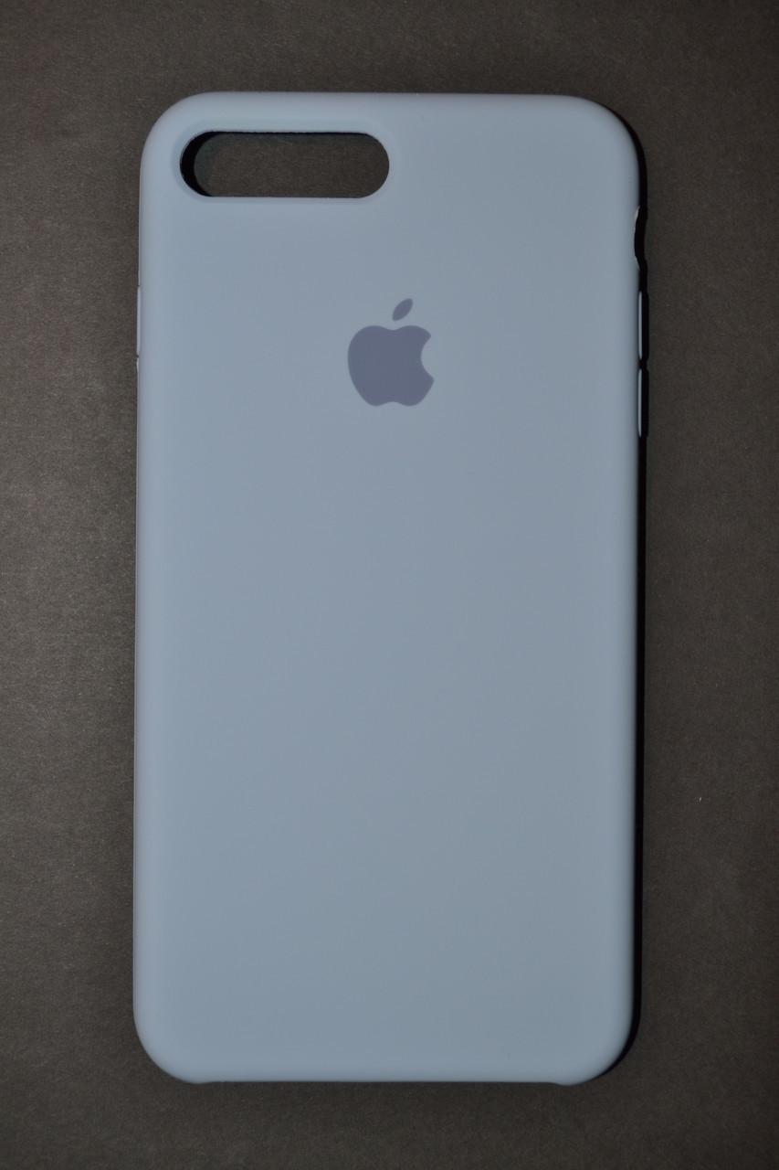 size 40 e10c3 650cf TPU + PC + MicroFiber Apple Silicone Case for iPhone 7 / 8 Plus Sky Blue  (небесно-голубой) - купить по лучшей цене в ...