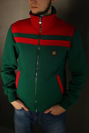 Толстовка зимняя мужская Adidas, фото 2