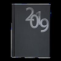 Ежедневник датированный 2019 OFFICE, A5, черный 2164-01 , фото 1