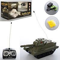 """Танк на радиоуправлении 26 см, стреляет пульками «Танковый бой» """"Tank war"""", 3886A-S"""