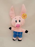 Свинка с пятачком музикальная 20 см 002044