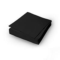 Салфетка Гостевая, черная, 1сл, 300 шт/уп. 24/24см