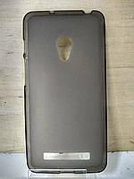 Силиконовый темный чехол Asus Zenfone 5