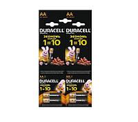 Батарейки Duracell AA 1500 мАч (4 шт.)