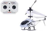 Игрушечный вертолет аккумуляторный на р/у 33008 для мальчиков от 10 лет (22х4х9.5 см) Белый