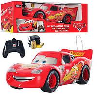 Машина 0395 на радиоуправлении тачки для мальчиков от 4 лет (при движении загораются фары) красный