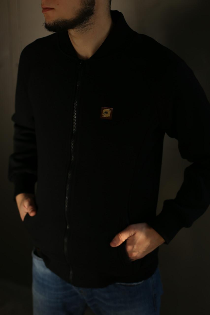 Толстовка зимняя мужская Adidas. Черная