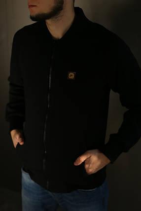 Толстовка зимняя мужская Adidas. Черная , фото 2