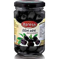 Маслины Baresa Olive Nere (без косточки и рассола) 125г