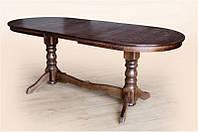 Стол обеденный Говерла - 2 темный орех (120-160 см)