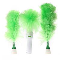 Электрическая беспроводная щетка SUNROZ Go Duster для удаления пыли Бело-Зеленый (SUN2317)