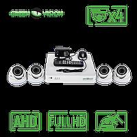 Комплект 4 AHD камеры, 2 Mp, Full HD - Green Vision GV-K-S16/04 1080P