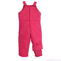 Детские теплые зимние штаны для девочек, коралловые, код: 3014