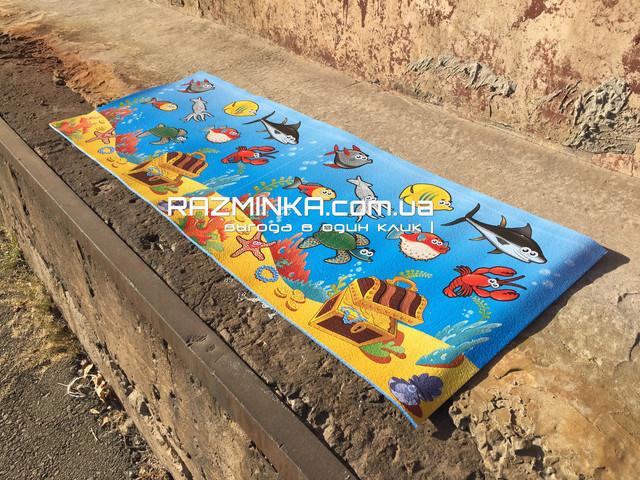 Детский коврик Мультики морское дно