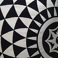 Ковёр Kolibri геометрический узор черно-белый 1.60х2.30 м. , фото 1