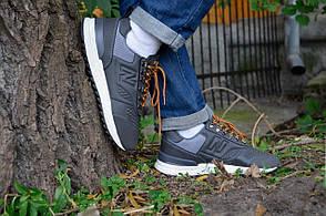 Кросівки чоловічі Нью Беланс Trailbuster Grey верх їх еко-шкіри підошва з піни Репліка, фото 2