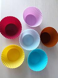 Набор силиконовых форм для кексов (6шт)