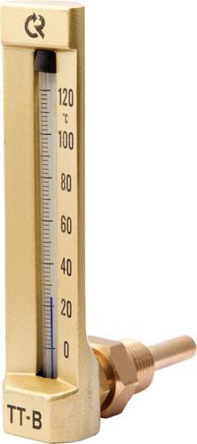 Термометр виброустойчивый ТТВ угл 200/50 G1/2 (0…100) ц.д.2 Этанол/толуол
