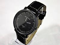 Часы наручные  мужские черные кварцевые Rosivga