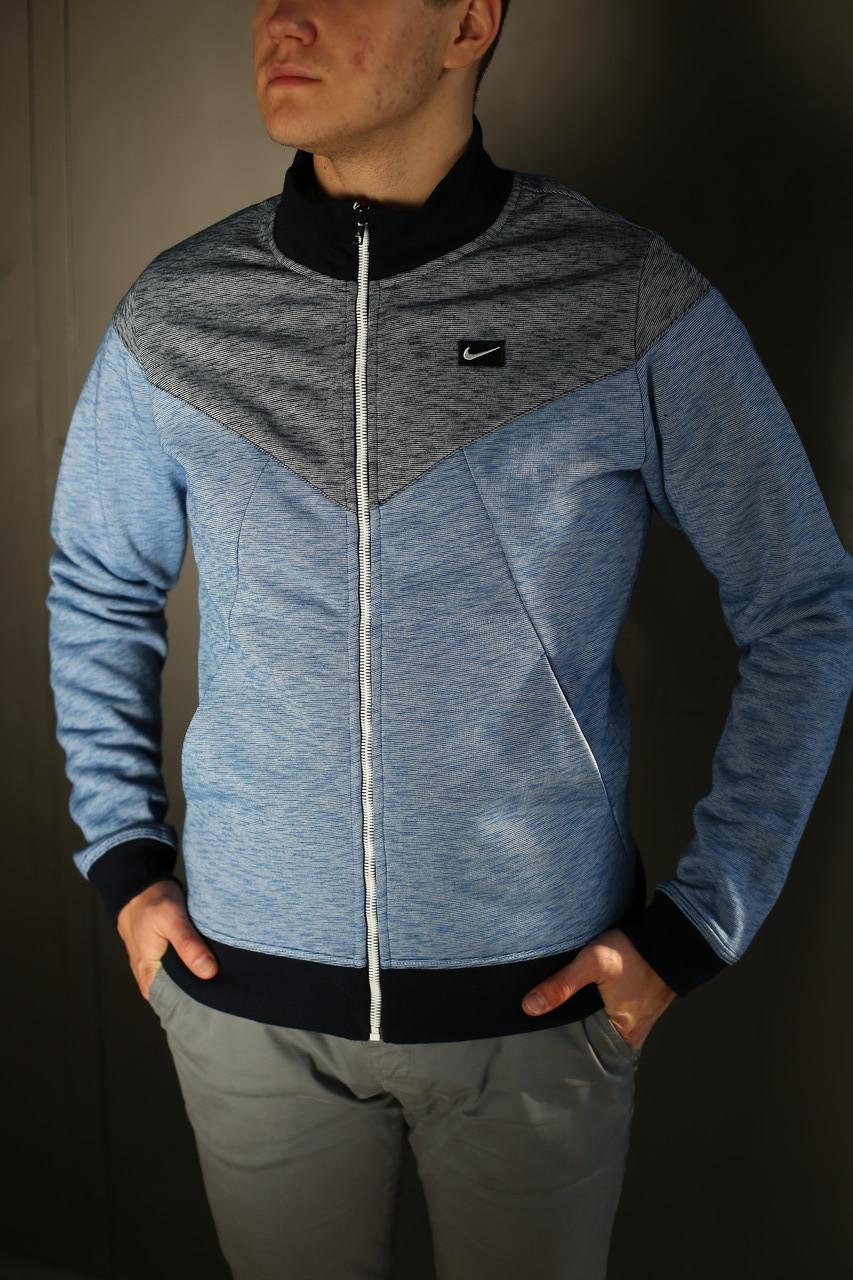 Кофта мужская Nike. Темно синяя
