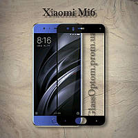 Защитное стекло 2.5D на весь экран для Xiaomi Mi 6 цвет Черный