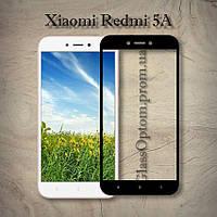 Защитное стекло 2.5D на весь экран для Xiaomi Redmi 5A цвет Черный