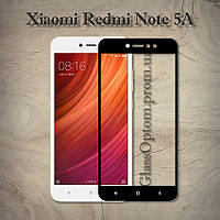 Защитное стекло 2.5D на весь экран для Xiaomi Redmi Note 5A Pro цвет Черный