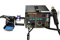 Термоповітряна паяльна станція W.E.P 968DB+, фото 1