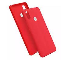Чехол Candy Silicone для Xiaomi Mi Max 3 цвет Красный