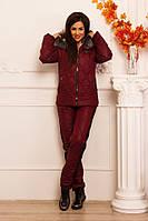 Теплый зимний костюм с капюшоном, фото 1