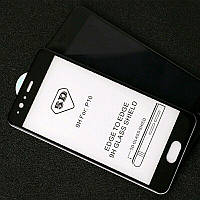 Защитное стекло 5D Full Cover для Huawei P10 цвет Черный