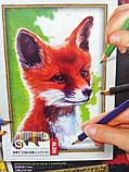 Картины-раскраски карандашами 'Лис' (PBN-01-01), фото 2