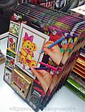 Картины-раскраски карандашами 'Мишка' девочка (PBN-01-05), фото 3
