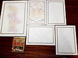 Картины-раскраски карандашами 'Мишка' девочка (PBN-01-05), фото 7