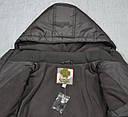Куртка зимняя GAO коричневая (QuadriFoglio, Польша), фото 7