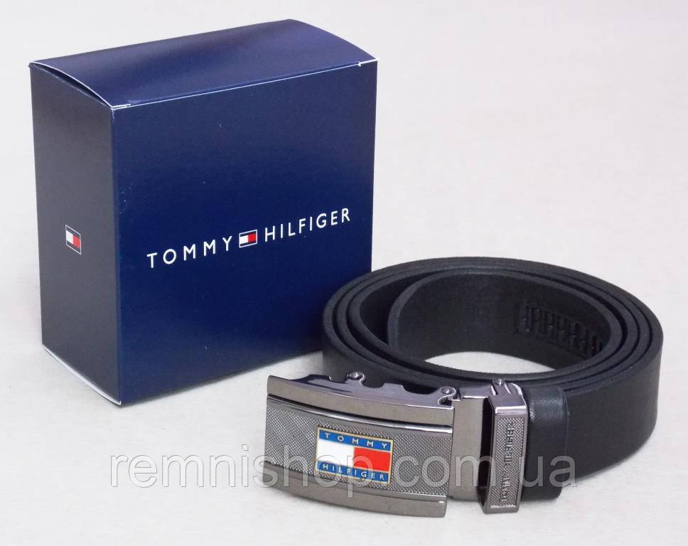Мужской кожаный ремень Tommy Hilfiger с автоматической пряжкой -  Интернет-магазин