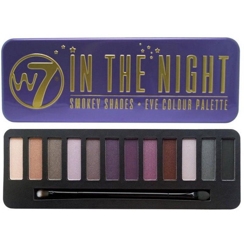 Палетка теней для век W7 In The Night