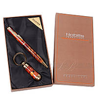 Брелок с фонариком, шариковая ручка набор подарочный 395510, фото 1